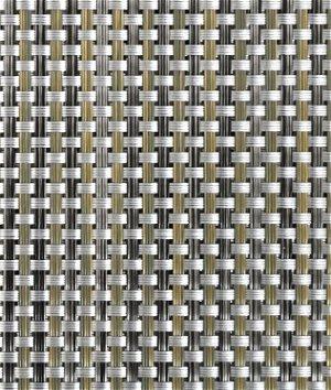 Phifertex PVC Wicker Weaves - Cane Wicker Aluminum Fabric