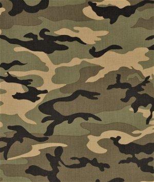 Moda Urban Camouflage Olive Fabric
