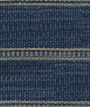 Kravet 31511.516 Saddle Stripe Indigo Fabric