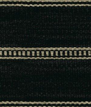 Kravet 31511.816 Saddle Stripe Onyx Fabric