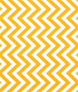 Moda Medium Zig Zag Sunshine Fabric