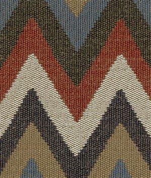Kravet 32348.519 Artisan Chevron Indigo Fabric