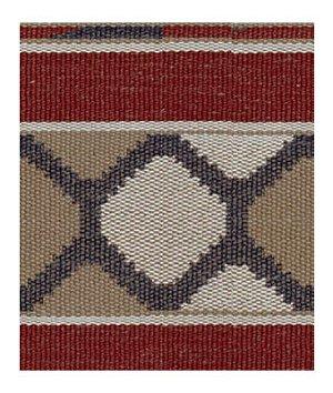 Kravet 32350.619 Rustic Panel Madder Fabric