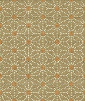 Kravet 32849.1216 Japonica Mandarin Dot Fabric