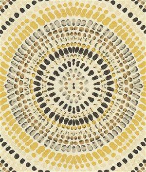 Kravet 32987.411 Painted Mosaic Golden Grey Fabric