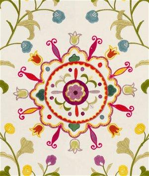 Kravet 33073.1012 Suzani Garden Brights Fabric