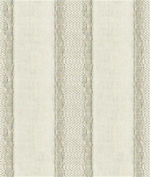 Kravet 33279.11 Gilded Stripe Platinum Fabric