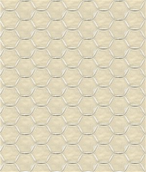 Kravet 33540.1 Luxury Found White Gold Fabric | OnlineFabricStore.net