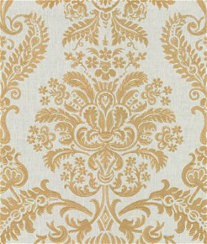 Kravet 33551.4 Grand Gesture White Gold Fabric