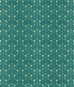 Kravet 33783.35 Peries Teal Fabric