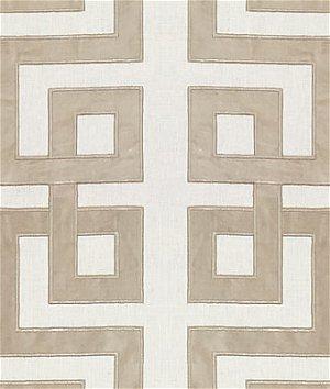 Kravet 33957.11 Modern Applique Stone Fabric