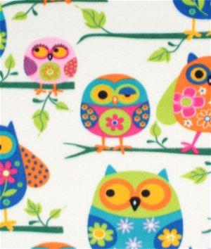 Owls WinterFleece Fabric