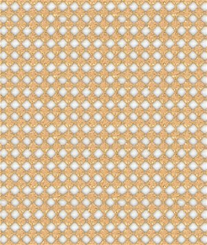 Kravet 3576.404 Tie The Knot White Gold Fabric