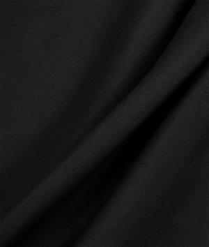 Black Broadcloth Fabric
