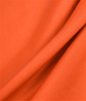 Orange Broadcloth Fabric
