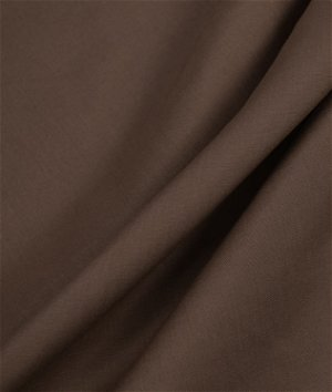 Brown Broadcloth Fabric