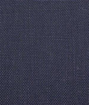 Sailor Navy Sultana Burlap Fabric