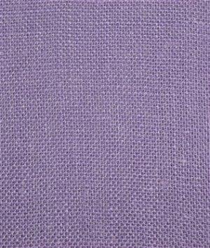 Violet Sultana Burlap Fabric