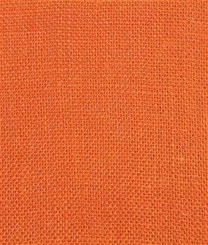 Tangerine Sultana Burlap Fabric