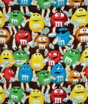 Springs Creative Mars M&M's Funfetti Packed Fleece Fabric