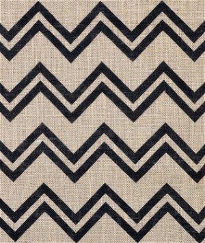 Springs Creative Step Angles Printed Burlap Fabric