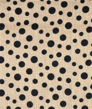 Springs Creative Scattered Dot Printed Burlap Fabric