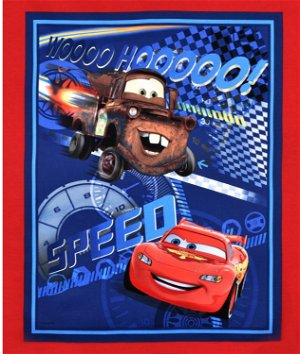 Springs Creative Disney Cars Speed Racing Panel