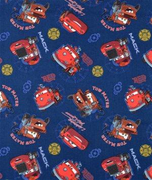 Springs Creative Disney Cars Allover Fabric