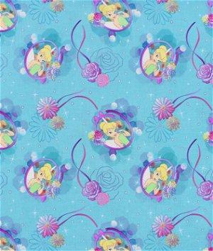 Springs Creative Disney Tinkerbell Petal Perfect Cameo Fabric