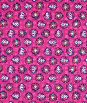 Springs Creative Disney Frozen Sisters Set Heart Flannel Fabric
