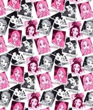 Springs Creative Disney Princess Photos Jersey Knit Fabric