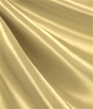 Banana Yellow Satin Fabric