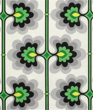 HGTV Flower Tower Malachite Fabric