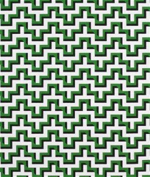HGTV Jigsaw Malachite Fabric