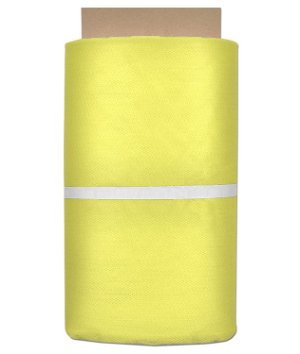 Yellow Nylon Netting Fabric