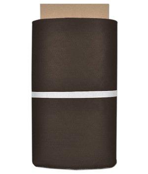 Chocolate Brown Nylon Netting Fabric