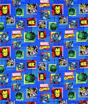 Licensed Marvel Comics Fabric