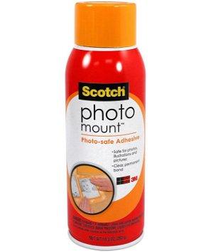 Scotch Photo Mount Adhesive - 10.3 Oz