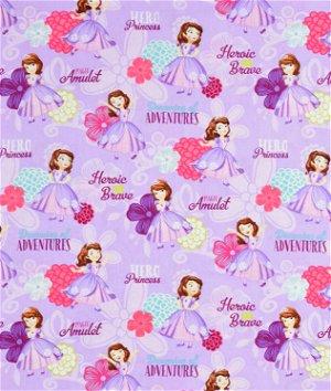 Springs Creative Disney Sofia Hero Princess Fabric