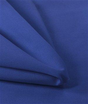 "57"" Royal Blue Broadcloth Fabric"