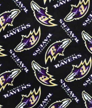 Baltimore Ravens NFL Fleece Fabric