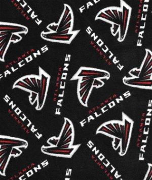 Atlanta falcons nfl fleece fabric onlinefabricstore atlanta falcons nfl fleece fabric voltagebd Choice Image
