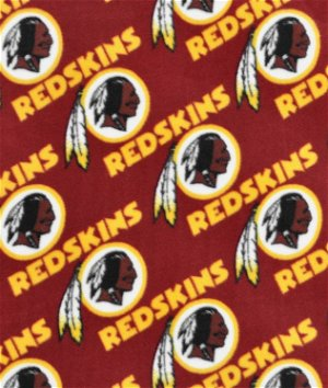 Washington Redskins NFL Fleece Fabric