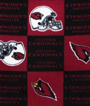 Arizona Cardinals NFL Fleece Fabric