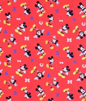 Springs Creative Disney M-I-C-K-E-Y Fabric