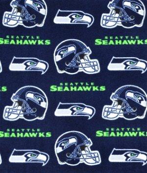 Seattle Seahawks NFL Fleece Fabric