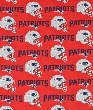 New England Patriots NFL Cotton Fabric