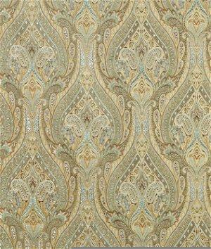 Waverly Karaj Paisley Mineral Fabric