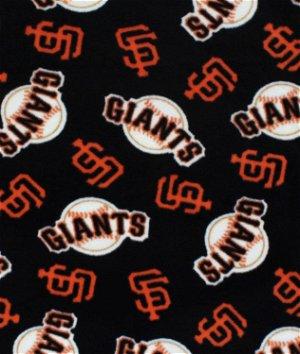 San Francisco Giants MLB Fleece Fabric
