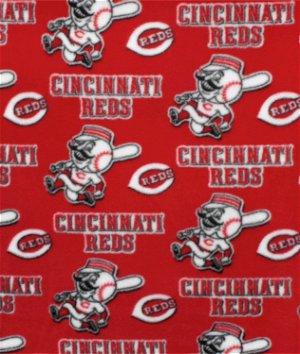 Cincinnati Reds MLB Fleece Fabric